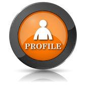 Ikony profilu — Stock fotografie