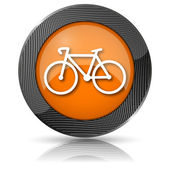 Bicycle icon — Stock Photo