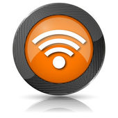 Wireless sign icon — Photo
