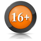 16 plus ikonen — Stockfoto