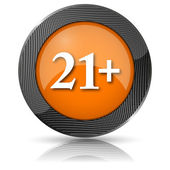 21 plus ikonu — Stock fotografie