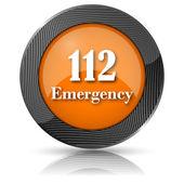 Ikona alarmowy 112 — Zdjęcie stockowe
