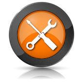 Ikona nástroje — Stock fotografie