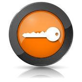 钥匙图标 — 图库照片