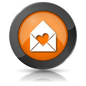 Send love icon — 图库照片
