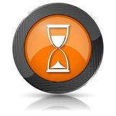 Hourglass icon — Stock Photo