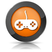 Gamepad icon — Stockfoto