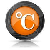 Celsius icon — Foto de Stock
