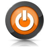 Power button icon — Stock Photo