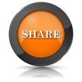 Aandeel pictogram — Stockfoto