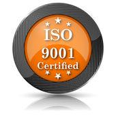 ISO9001 icon — Stock Photo
