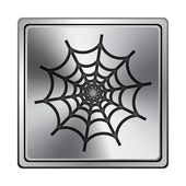 Icono de web spider — Foto de Stock