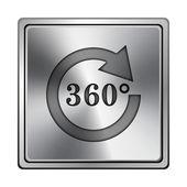 Recargar icono 360 — Foto de Stock