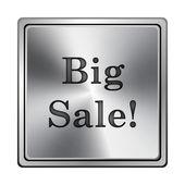 Velký výprodej ikona — Stock fotografie