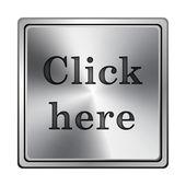 Clicca qui sull'icona — Foto Stock