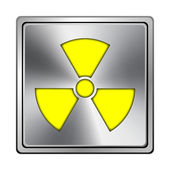 Radiation icon — Stockfoto