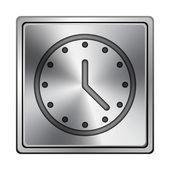 Clock icon — Stock Photo