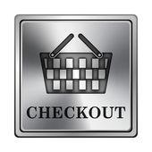 Pokladna ikona — Stock fotografie