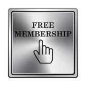 Ikona darmowe członkostwo — Zdjęcie stockowe