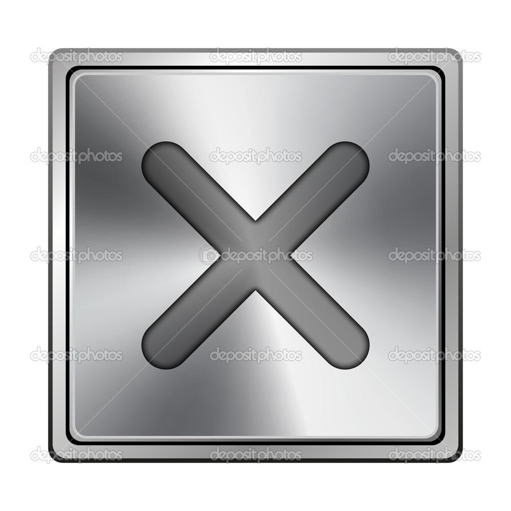 значок x:
