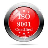 Iso9001 图标 — 图库照片