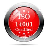Iso14001 图标 — 图库照片