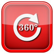 Reload 360 icon — Stockfoto