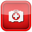 Medical bag icon — Stock Photo #36858683