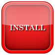 Install icon — Stock Photo