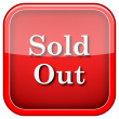 Sold out icon — Stock Photo