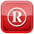 Registered mark icon — Stock fotografie #36859373