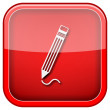 Pen icon — Stock Photo #36859381