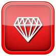 Diamond icon — Stock Photo #36859393