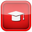 Graduation icon — Stock fotografie #36859395