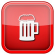 Beer icon — Stock fotografie #36859485