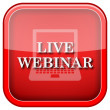 Live webinar icon — Stock Photo #36859591