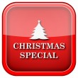 Christmas special icon — Stock Photo