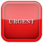 Urgent icon — Stock Photo #36859775