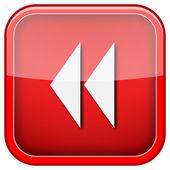 Rewind icon — Stock Photo