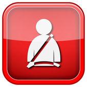 Icône de la ceinture de sécurité — Photo