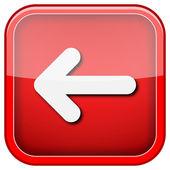 Left arrow icon — Stock Photo