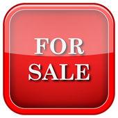 Icona di vendita — Foto Stock