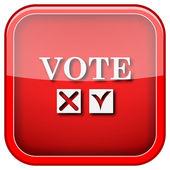 Icône de vote — Photo