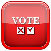 Vote icon — Foto Stock