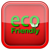 Eco friendly icône — Photo