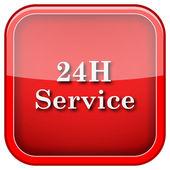 24H Service icon — ストック写真