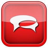 Chat bubbles icon — Стоковое фото
