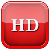 HD icon — Stock Photo