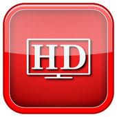 Icône de tv hd — Photo