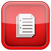 Document icon — Stock fotografie